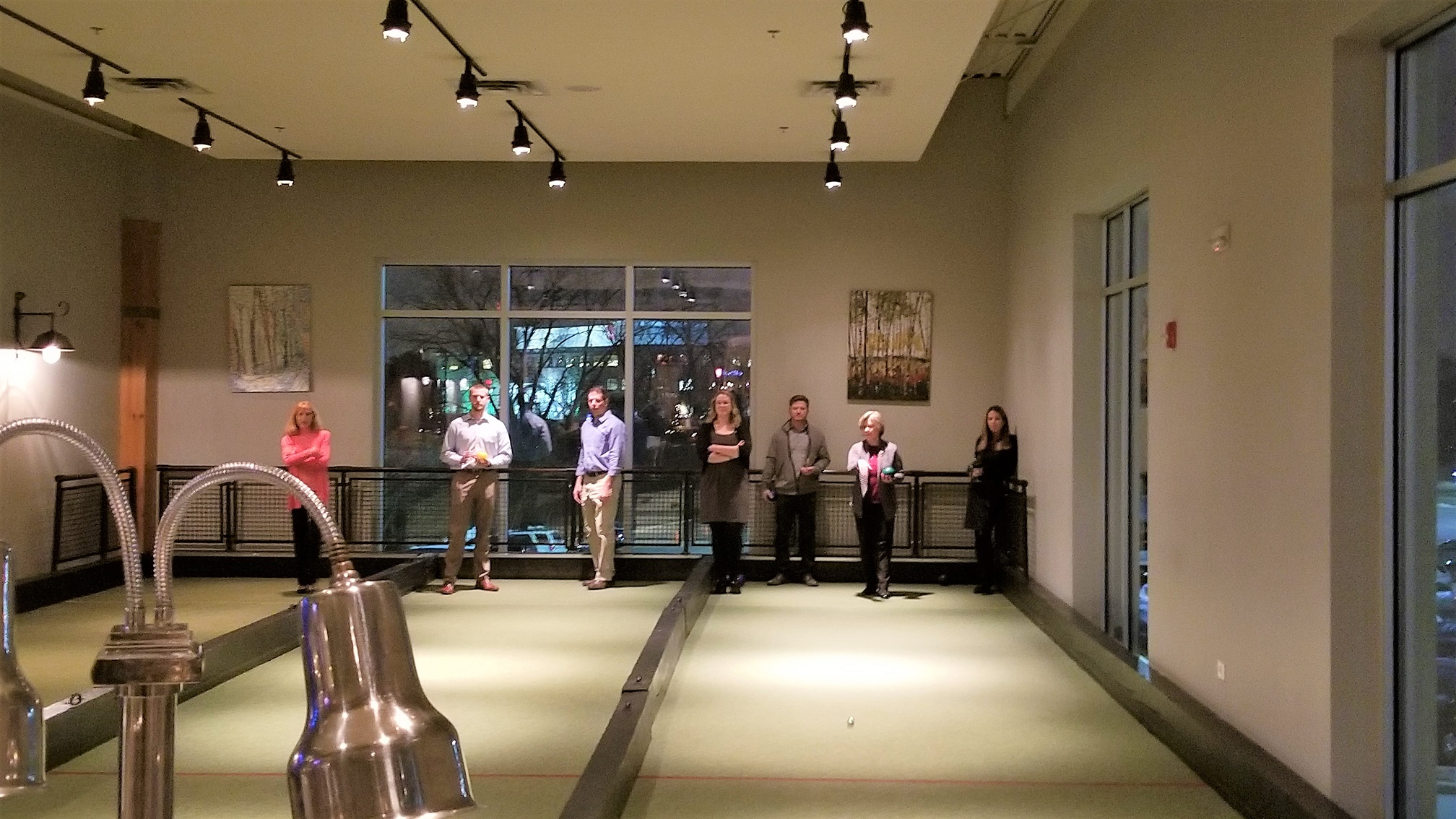 IMC celebrated its 2018 Holiday Party at Pinstripes Oak Brook with an evening of bocce ball, good food, and great company!
