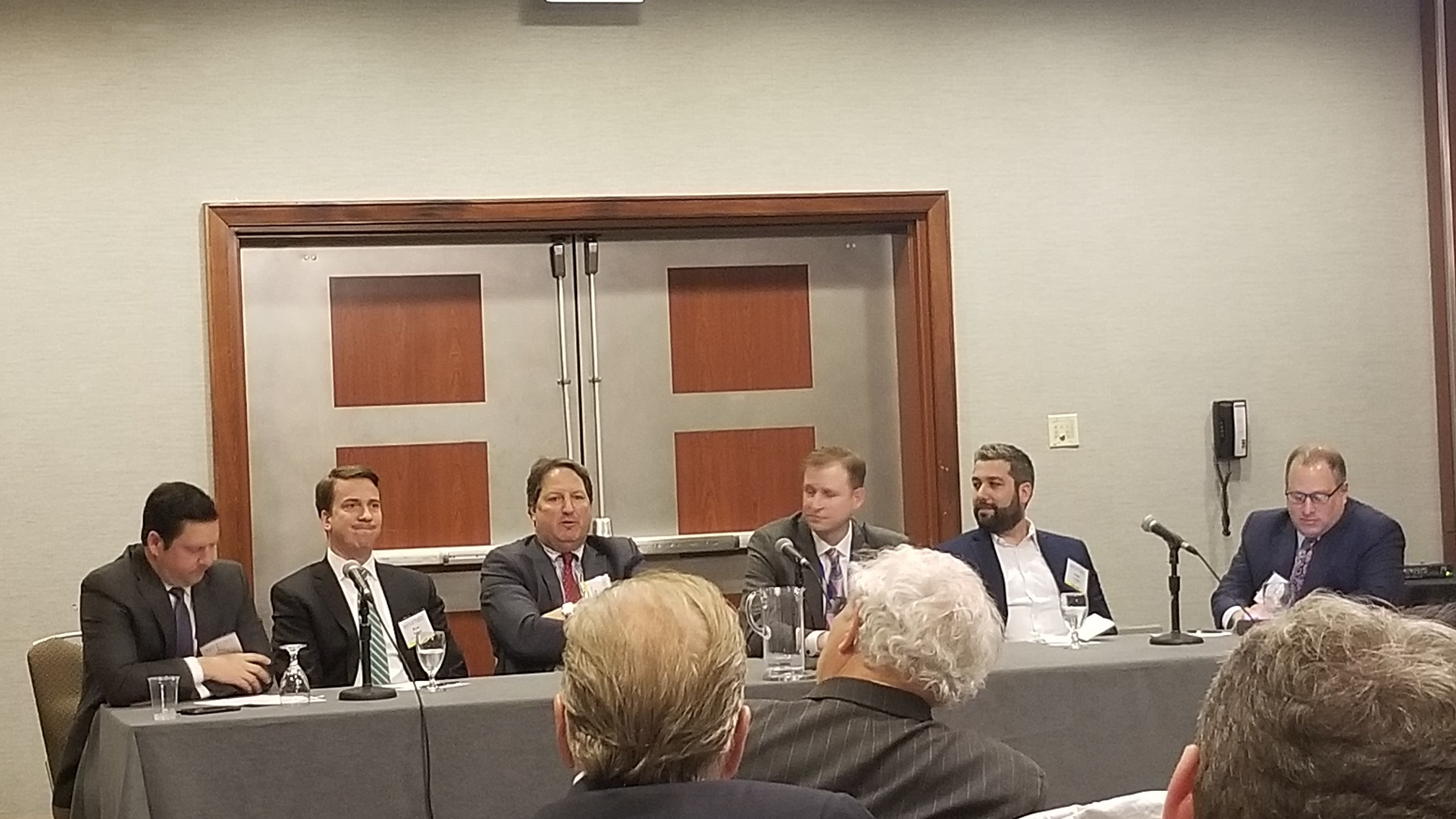 Art Rendak spoke on the finance breakout panel during the 2019 17th Annual Commercial Real Estate Forecast Conference.