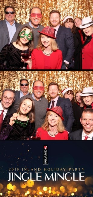 The IMC team celebrated the holidays at the Inland Group's Jingle Mingle, held at the Butterfield Country Club!